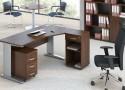 Eleganckie biuro w kolorze orzecha – propozycja dla wielbicieli klasyki