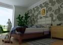 Tapeta alternatywą dla malowania ścian