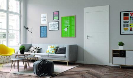 Najmodniejsze białe drzwi pokojowe