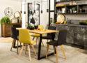 nowoczesne plastikowe krzesła do jadalni
